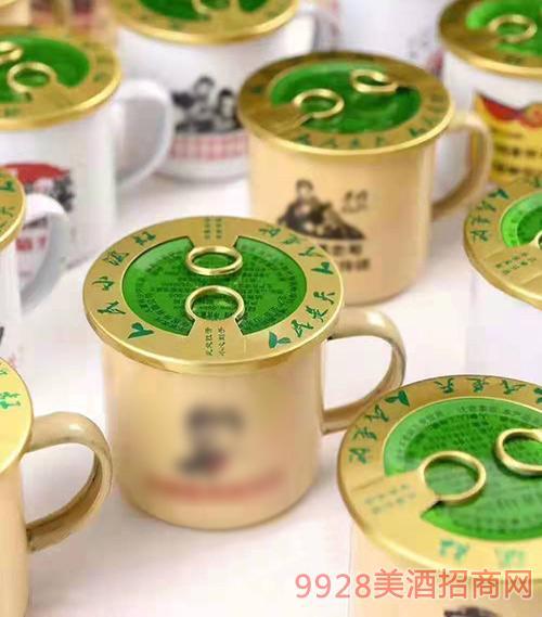 参杞阿胶茶缸酒42度