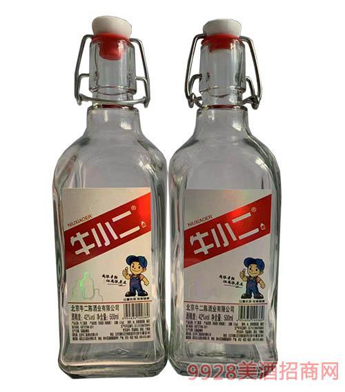 牛小二瓶�b酒42度500ml