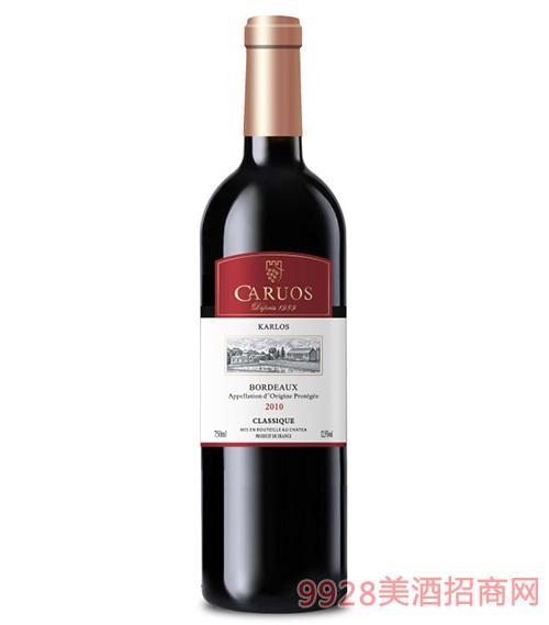 卡斯特皇室經典干紅葡萄酒
