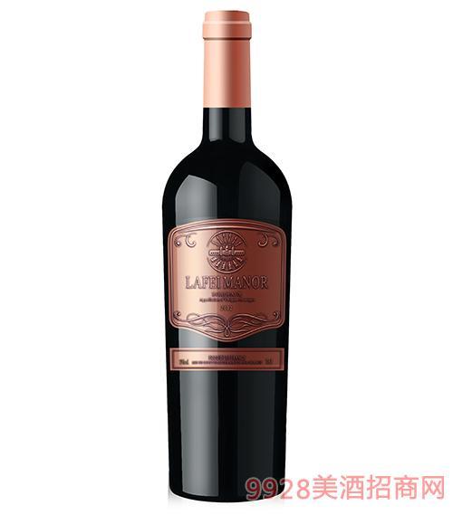 拉菲古堡莊園伯爵干紅葡萄酒