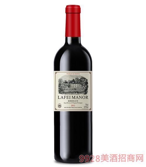 拉菲古堡莊園干紅葡萄酒
