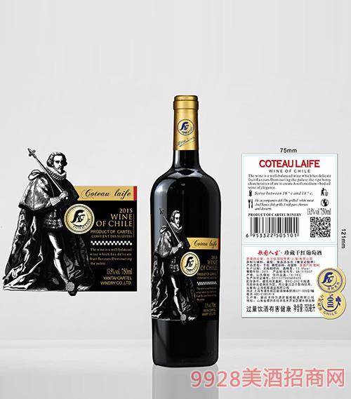 歌圖人生賽朗系列 珍藏干紅葡萄酒(超重瓶)13.5度750ml