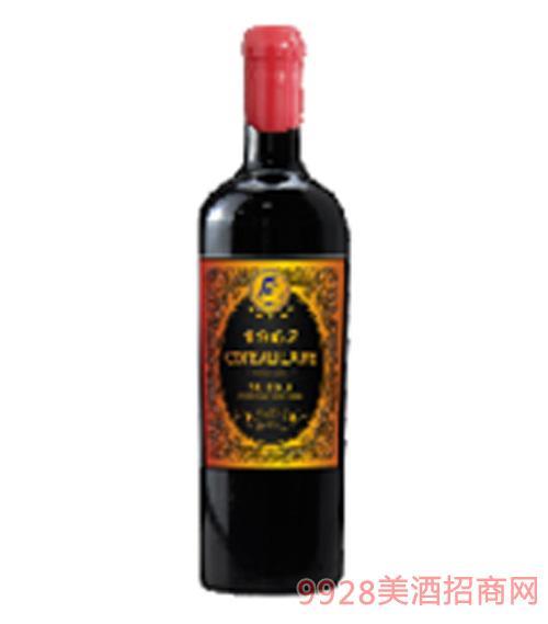 歌图人生 至尊 布里克1962干红葡萄酒14度750ml