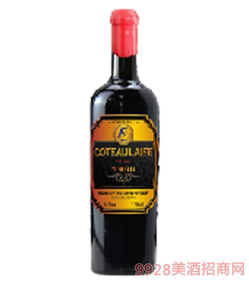 歌图人生 至尊 汉森1986干红葡萄酒14度750ml