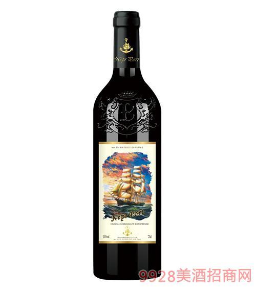 法���Z波特干�t葡萄酒14度750ml