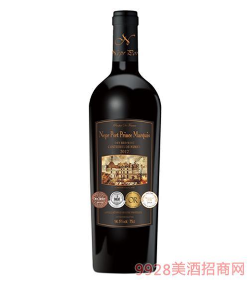 法���Z波特王爵干�t葡萄酒14.5度750ml