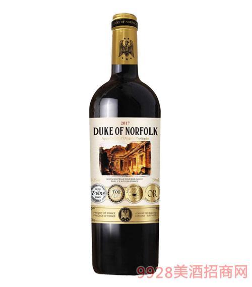 �Z・福克公爵干�t葡萄酒14.5度750ml