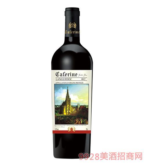 卡苷�Z玉爵干�t葡萄酒13.5度750ml