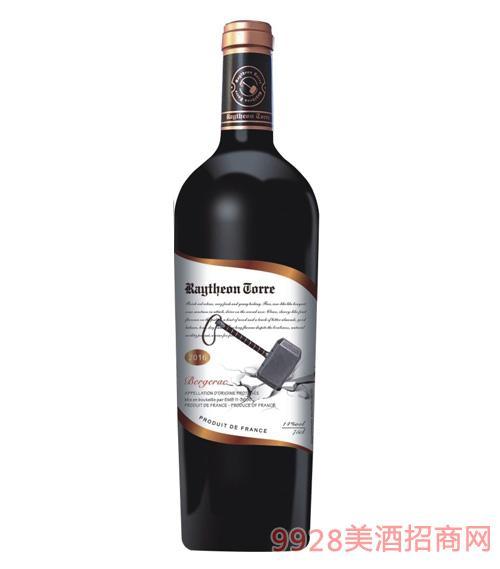 雷神托��干�t葡萄酒14度750ml