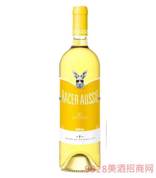 澳洲赛车手莫斯卡托甜白葡萄酒8度750ml