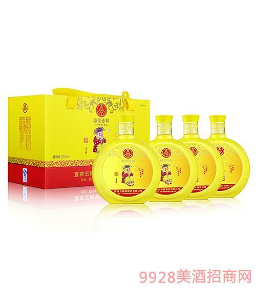 五粮液股份·富贵吉祥酒—中国梦(黄)52度500ml