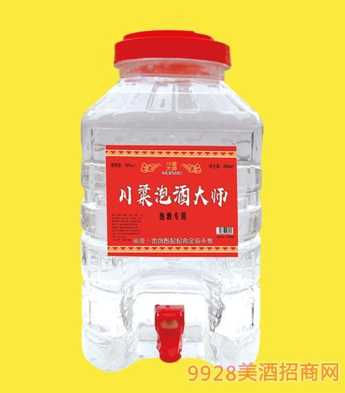 川粱泡酒大师酒桶装52度60度4Lx4