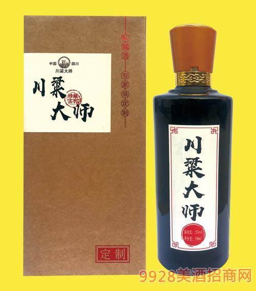 川粱大师酒(黑)42度500mlx6