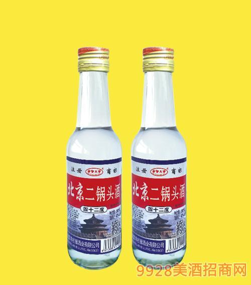 北京二锅头酒小白42度56度260mlx20