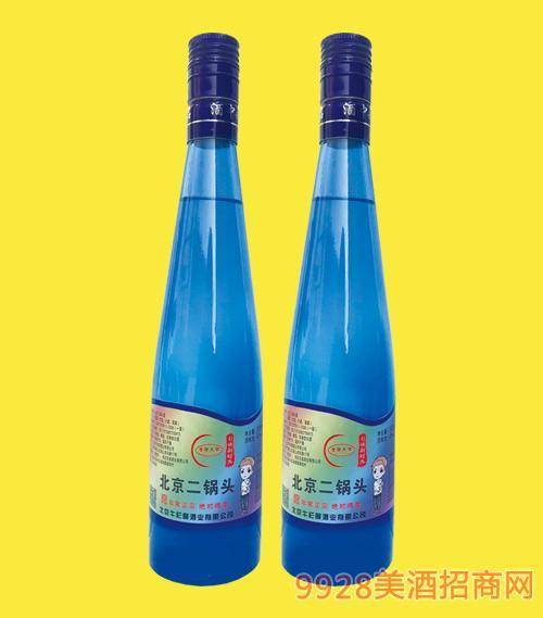 北京二锅头酒蓝瓶42度480mlx12