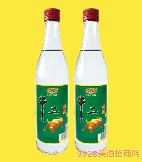 牛二陈酿酒42度500mlx12