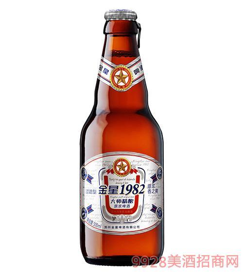 金星1982大师精酿原浆啤酒500ml