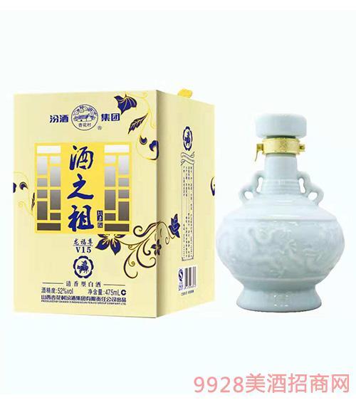 酒之祖酒龙福尊V15-52度475ml