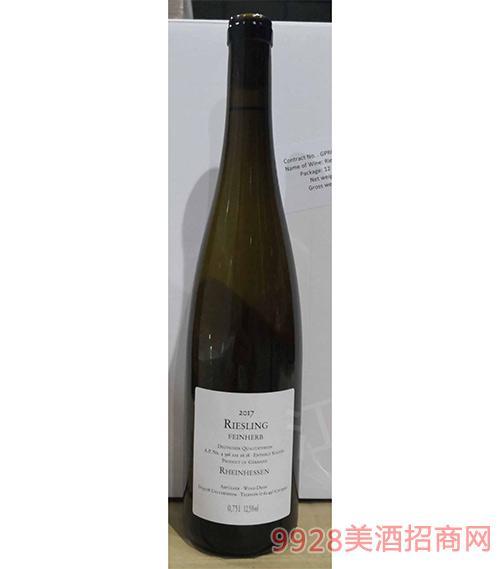 雷司令半干白葡萄酒12.5度750ml