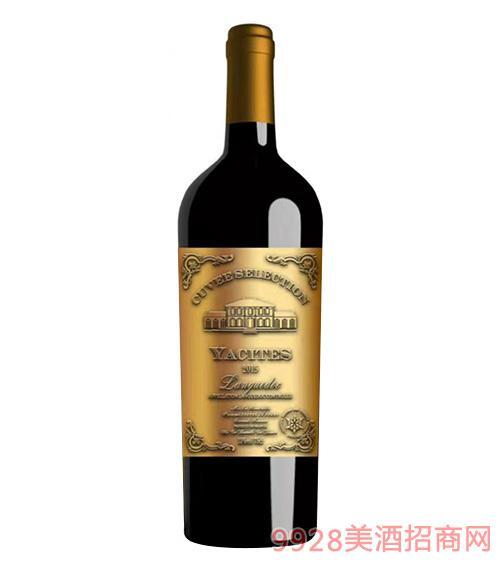 雅斯特朗格多克干红葡萄酒金标13度750ml