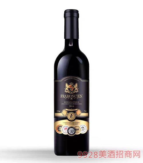 法国出口干红葡萄酒2016