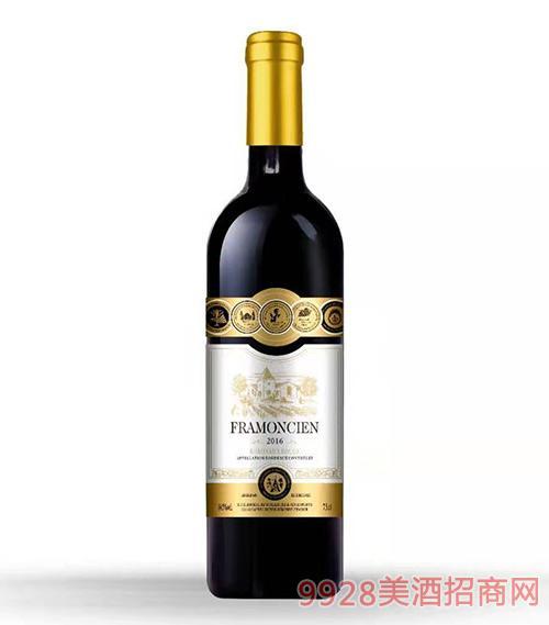 法���M口干�t葡萄酒2016