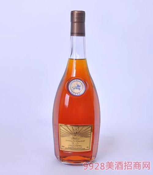 拉班尼XO白兰地瓶装40度1.5L