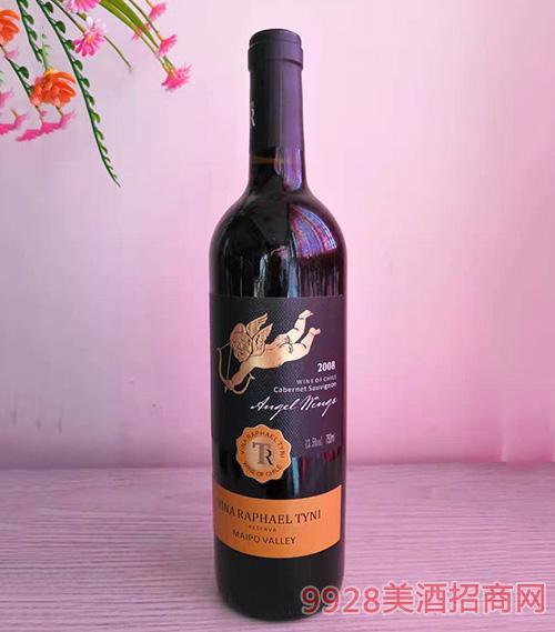 智利天使之翼干红葡萄酒750ml