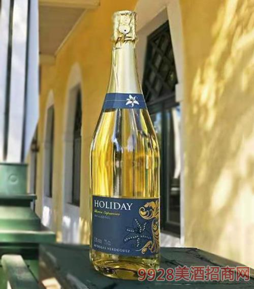 假日风景甜型无醇白起泡酒0.5%