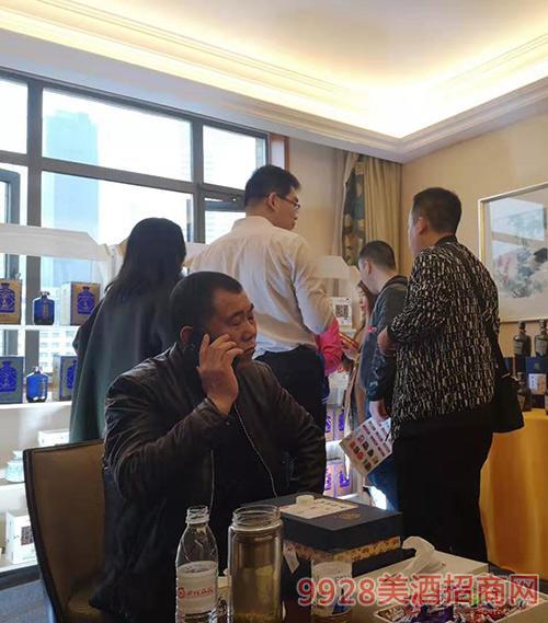 河南尊邦酒业有限公司2019成都春糖会平安彩票权威平台现场
