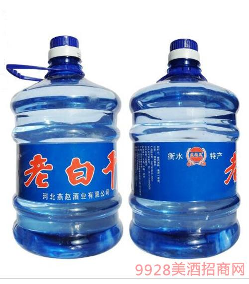 燕赵风老白干酒4L(蓝桶)