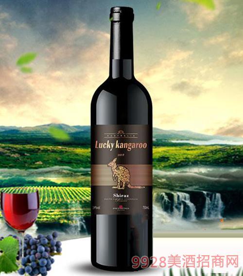 东南澳2017西拉干红葡萄酒14度750ml