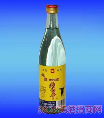 衡艺老白干酒光瓶52度500ml