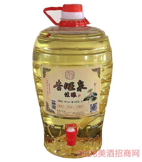杏旺泉佳酿酒50度5L