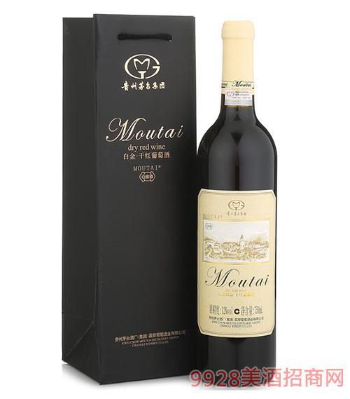 白金国品干红葡萄酒