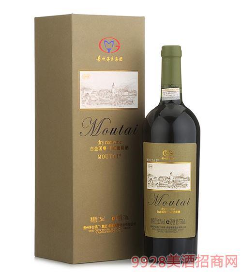 白金国尊干红葡萄酒