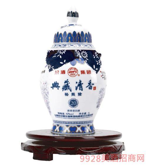 典藏清香酒42度1L