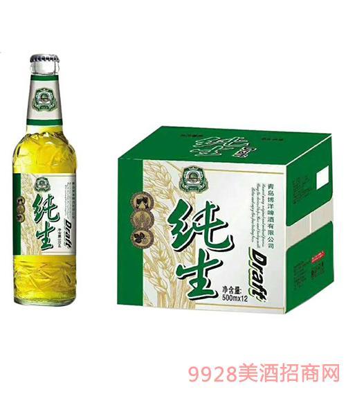 纯生啤酒箱装