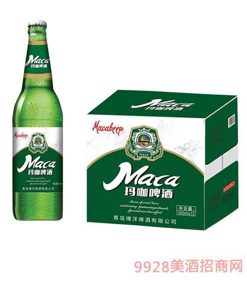 玛咖啤酒500ml