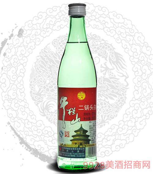 牛栏山二锅头酒52度500ml清香型 1x12