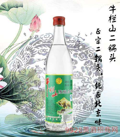 牛�谏蕉���^��酒52度500ML 光瓶酒