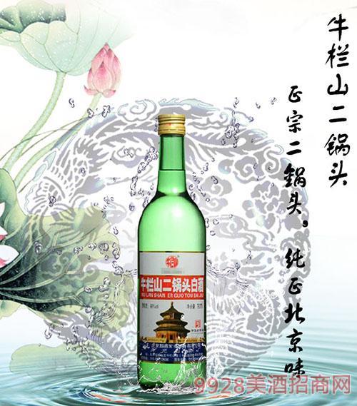 牛栏山二锅头美国大瓶酒56度750ML