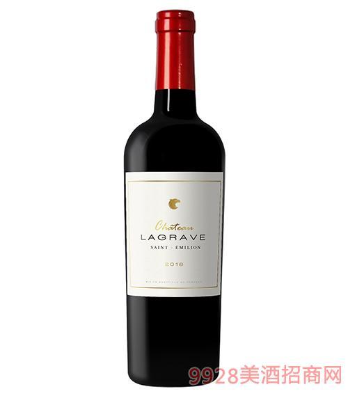 歌拉芙酒庄干红葡萄酒14度750ml
