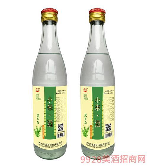 龙迎原生态小米酒42度500ml