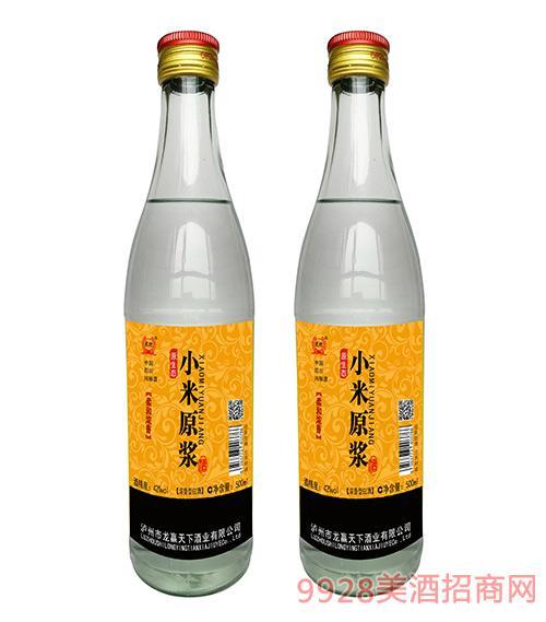 龙迎原生态小米原浆酒42度500ml