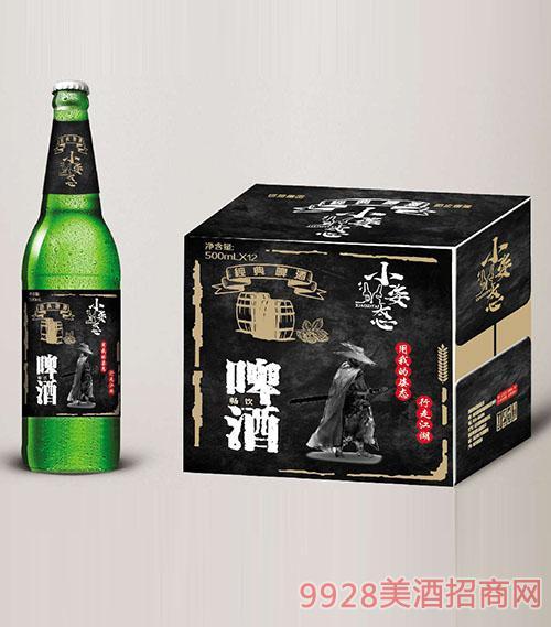 小姿态啤酒500mlx12