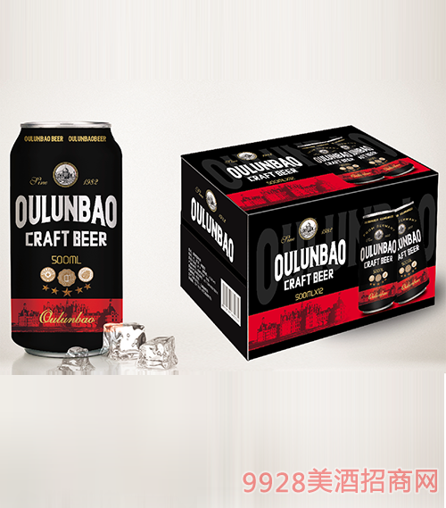 歐倫堡易拉罐啤酒500mlx12