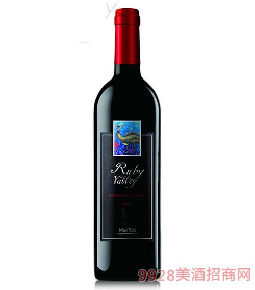 珺玥玫山谷黃尾袋鼠cg葡萄酒14度750ml