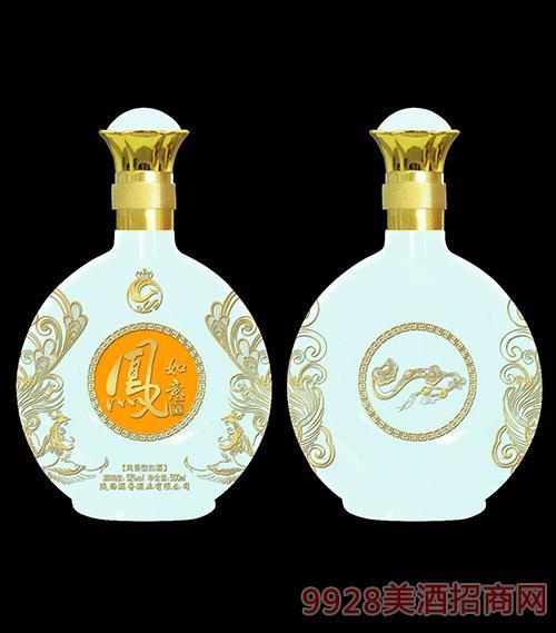 凤如意酒52度500ml凤香型