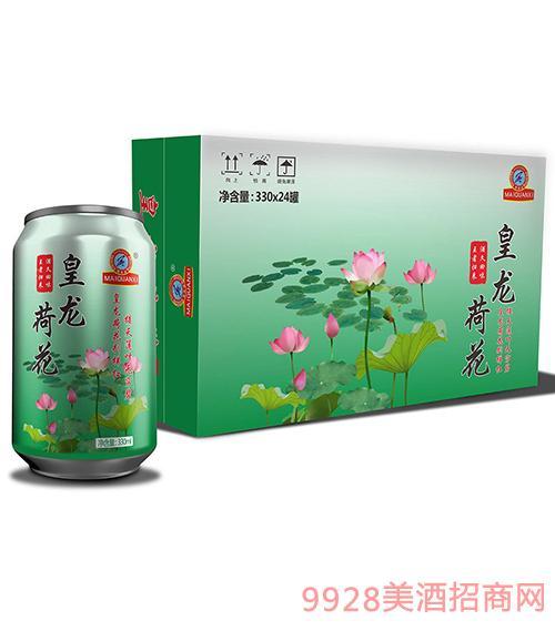 皇龙荷花啤酒330mlx24